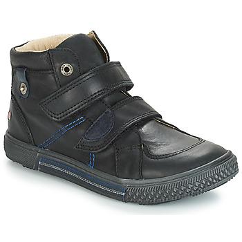 Scarpe Bambino Sneakers alte GBB RANDALL Nero