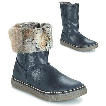 Schuhe Mädchen Klassische Stiefel GBB DUBROVNIK Blau