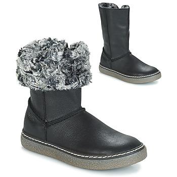 Chaussures Fille Bottes ville GBB DUBROVNIK Noir