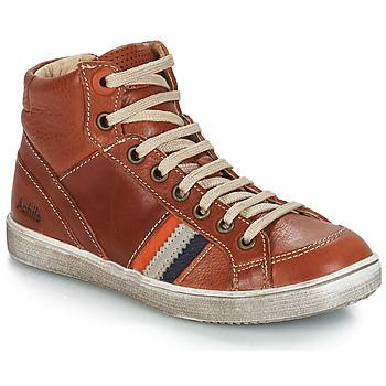 Scarpe Bambino Sneakers alte GBB ANGELO Marrone