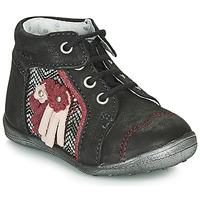 Schuhe Mädchen Boots Catimini RAINETTE Silbrig