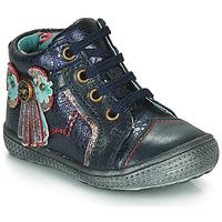 Schuhe Mädchen Boots Catimini RHUBARBE Marine