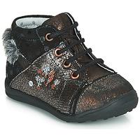 Chaussures Fille Boots Catimini ROULETTE Noir