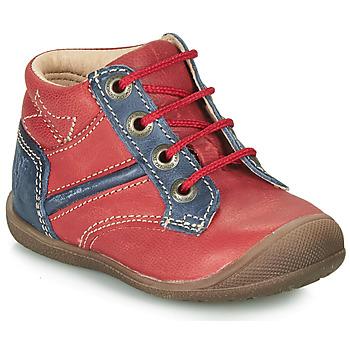 Schuhe Jungen Boots Catimini RATON Rot / Marineblau