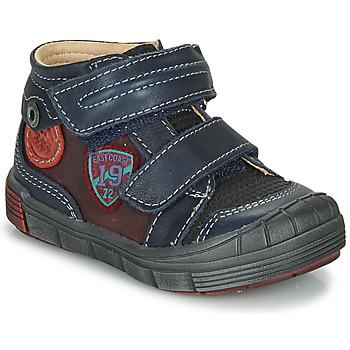 Schuhe Jungen Boots Catimini ROMARIN Marineblau / Bordeaux