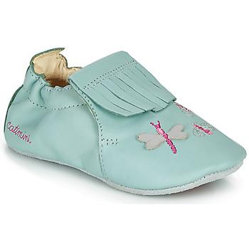 Schuhe Mädchen Hausschuhe Catimini RHIZINE Blau