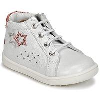 Chaussures Fille Baskets montantes GBB SABBAH Blanc