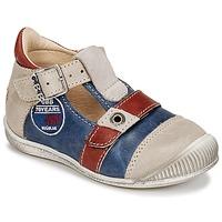 Schuhe Jungen Sandalen / Sandaletten GBB STANISLAS Marineblau / Beige / Rot