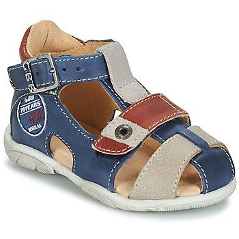 Schuhe Jungen Sandalen / Sandaletten GBB SULLIVAN Blau / Beige / Braun,