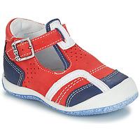 Schuhe Jungen Sandalen / Sandaletten GBB SIGMUND Rot / Blau