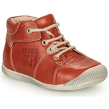 Schuhe Jungen Boots GBB SIMEON Braun,