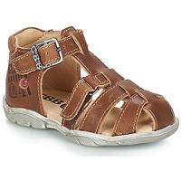 Schuhe Jungen Sandalen / Sandaletten GBB PRIGENT Braun,
