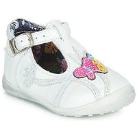 Chaussures Fille Ballerines / babies Catimini SOLEIL Blanc