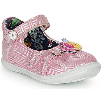 Schuhe Mädchen Ballerinas Catimini SITELLE Silber