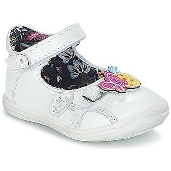Schuhe Mädchen Ballerinas Catimini SITELLE Weiss