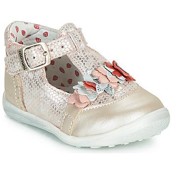 Chaussures Fille Ballerines / babies Catimini SALICORNE Rose