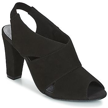 Chaussures Femme Sandales et Nu-pieds KG by Kurt Geiger FOOT-COVERAGE-FLEX-SANDAL-BLACK Noir
