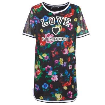 Kleidung Damen Kurze Kleider Love Moschino W5A0302 Bunt