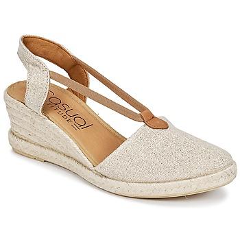Chaussures Femme Sandales et Nu-pieds Casual Attitude IPOP Or