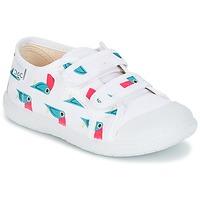 Scarpe Unisex bambino Sneakers basse Citrouille et Compagnie GLASSIA Bianco