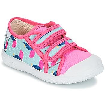 Schuhe Mädchen Sneaker Low Citrouille et Compagnie GLASSIA Bunt