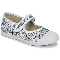 Schuhe Mädchen Ballerinas Citrouille et Compagnie APSUT Blau / Weiß