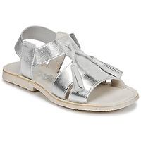 Schuhe Mädchen Sandalen / Sandaletten Citrouille et Compagnie INAPLATA Silbern