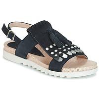 Schuhe Damen Sandalen / Sandaletten Elue par nous CHACAL Marine