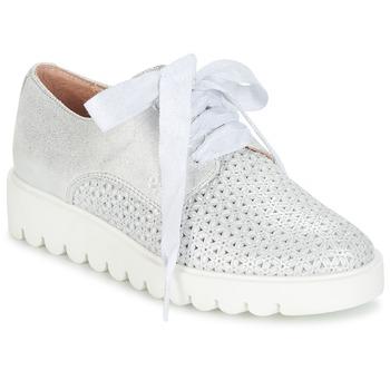 Schuhe Mädchen Derby-Schuhe Acebo's MAPLATA Silbrig