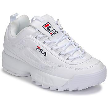 Schuhe Damen Sneaker Low Fila DISRUPTOR LOW WMN Weiß