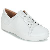 Schuhe Damen Sneaker Low FitFlop F-SPORTY II LACE UP SNEAKERS Weiss