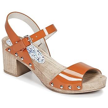 Chaussures Femme Sandales et Nu-pieds Ippon Vintage SOK COLORS Orange