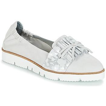 Schuhe Damen Slipper Mam'Zelle ASELIN Grau