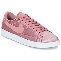 Chaussures Femme Baskets basses Nike BLAZER LOW SE W Rose