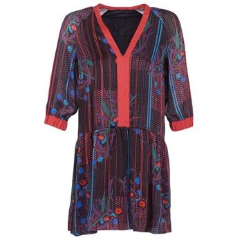 Abbigliamento Donna Abiti corti Sisley CEPAME Nero / Rosso / Blu