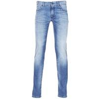 Abbigliamento Uomo Jeans slim Sisley BURLUDU Blu / Medium
