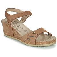 Schuhe Damen Sandalen / Sandaletten Panama Jack JULIA Braun,