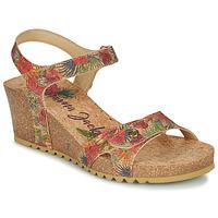 Schuhe Damen Sandalen / Sandaletten Panama Jack JULIA Beige