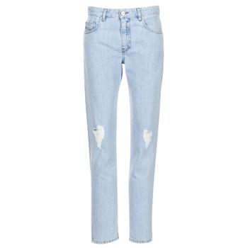 Kleidung Damen Straight Leg Jeans Diesel NEEKHOL Blau