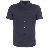 Abbigliamento Uomo Camicie maniche corte Emporio Armani BEWU Marine