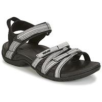 Chaussures Femme Sandales et Nu-pieds Teva TIRRA Noir / Blanc