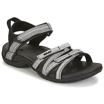 Schuhe Damen Sandalen / Sandaletten Teva TIRRA Schwarz / Weiss