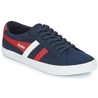 Schuhe Herren Sneaker Low Gola VARSITY Marine / Weiss / Rot
