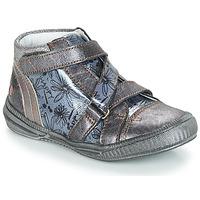 Chaussures Fille Boots GBB RADEGONDE Gris / Bleu