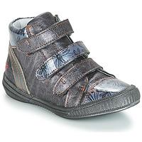 Schuhe Mädchen Boots GBB RAFAELE Blau / Grau