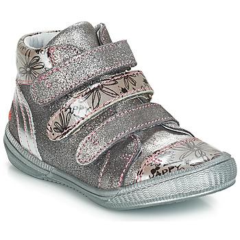 Schuhe Mädchen Boots GBB RAFAELE Silbrig