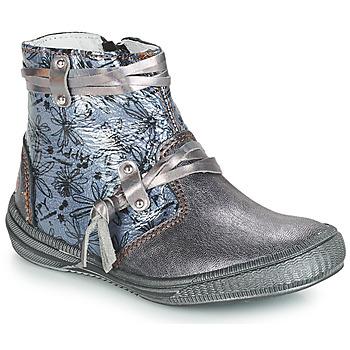 Chaussures Fille Boots GBB REVA Girs / Bleu