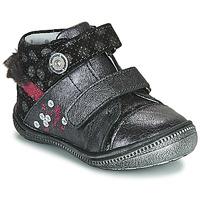 Schuhe Mädchen Boots Catimini ROSSIGNOL Grau / Silbrig