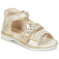 Schuhe Mädchen Sandalen / Sandaletten GBB SYLVIE Gold