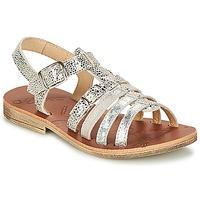 Schuhe Mädchen Sandalen / Sandaletten GBB BANGKOK Silbern